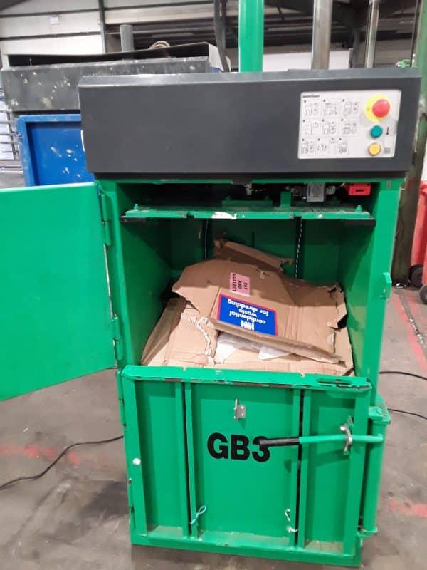 GB3 Vertical Baler 3692