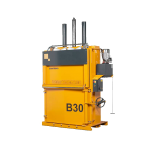 b30 large baler, yellow