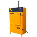 B3 small baler in yellow